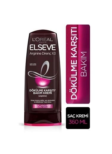 L'Oréal Paris Elseve Arginine Direnç X3 Dökülme Karşıtı Bakım Kremi 360 Ml Renkli